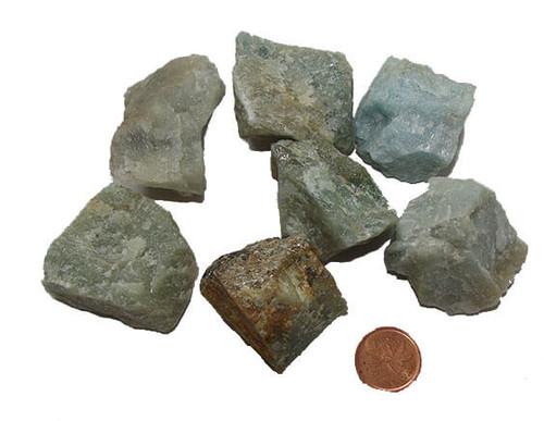 Aquamarine Rough Stone - size XXX large
