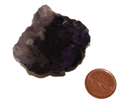 Muzquiz Purple Fluorite - Specimen E