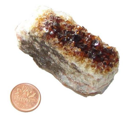 Citrine Crystal Cluster - Specimen V