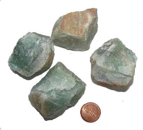 Green Aventurine Rough Stones, size huge