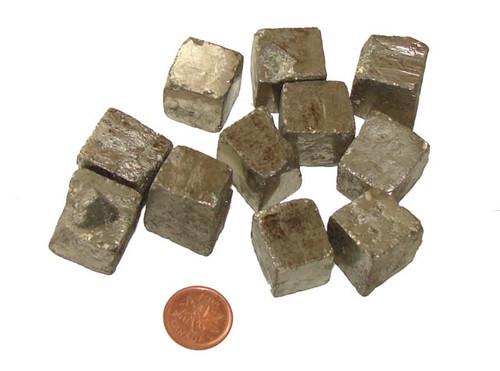 Pyrite Cube - size XXX Large