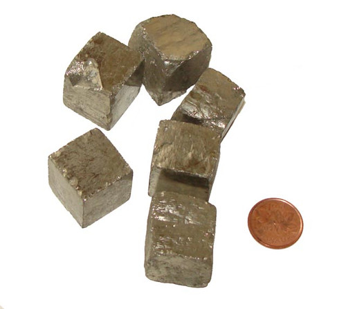 Iron Pyrite Cubes - size Huge