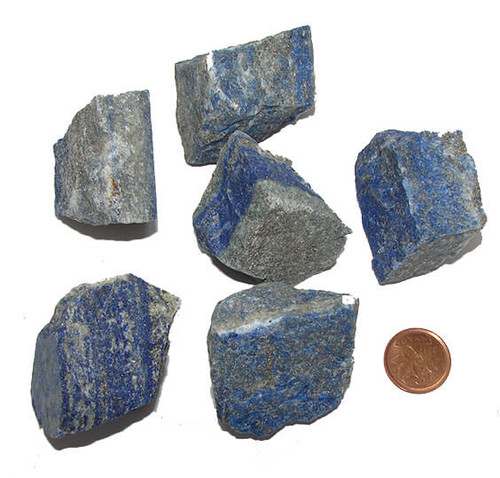 Raw Natural Lapis Lazuli Stones, Size XXX Large