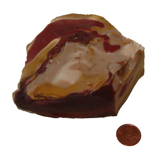 Raw Mookaite Jasper Stone - Specimen A