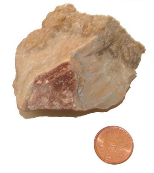Crazy Lace Agate Raw Stone - specimen D - image 2
