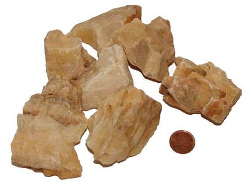 Raw Honeycomb Calcite Stones - XXX large