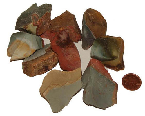 Polychrome Jasper rough stones - size large