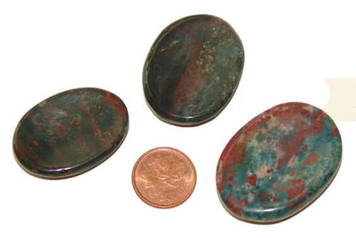 Bloodstone Thumb Stones
