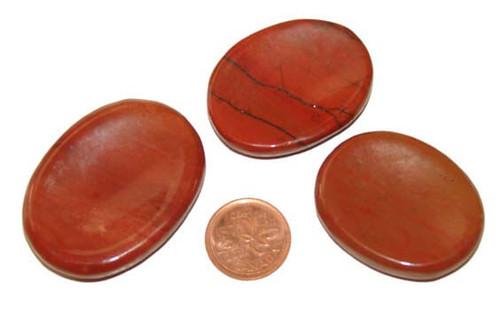 Red Jasper Worry Stones