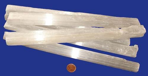 Selenite Rulers - 11 inch - 200 to 249 grams