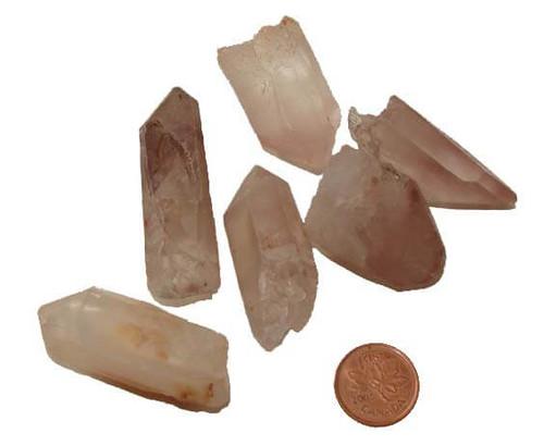 Lithium Quartz points - size large
