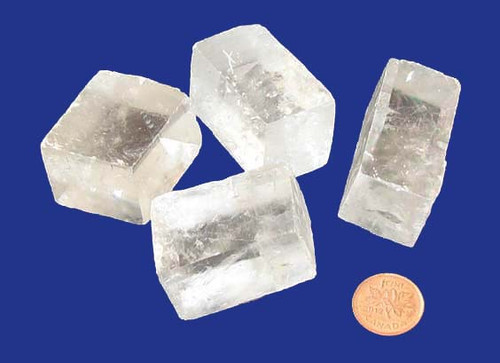 Iceland Spar crystals - size small