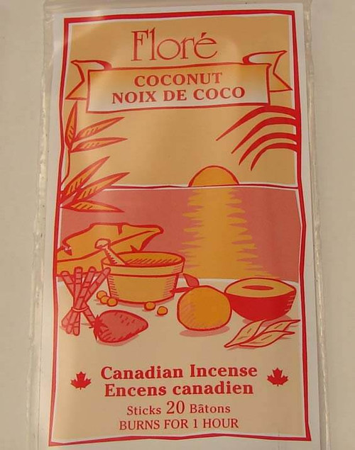 Coconut Incense Sticks by Flore