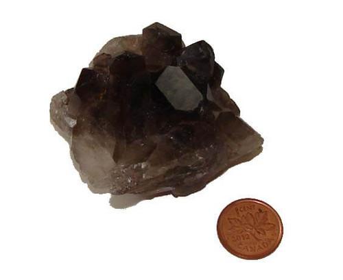 Smoky Quartz Crystal Cluster - Specimen Y