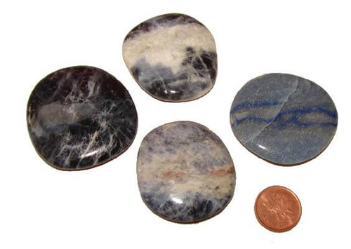Sodalite Pocket Stones, medium