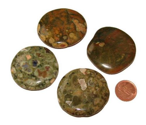 Rhyolite Soothing Pocket Stones, Medium
