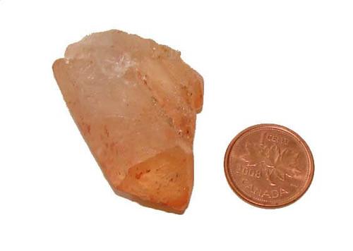 Red Quartz Stone Point, Specimen O, Image 1