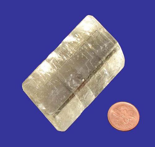 Rhombus Calcite Stone, Specimen M, Image 1