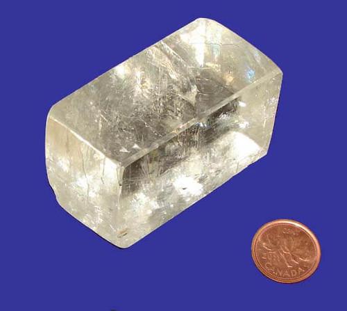 Rhombus Calcite Crystal, Specimen O, Image 1