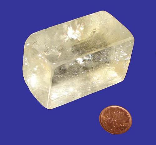 Calcite Rhombus Crystal, Specimen P, Image 1