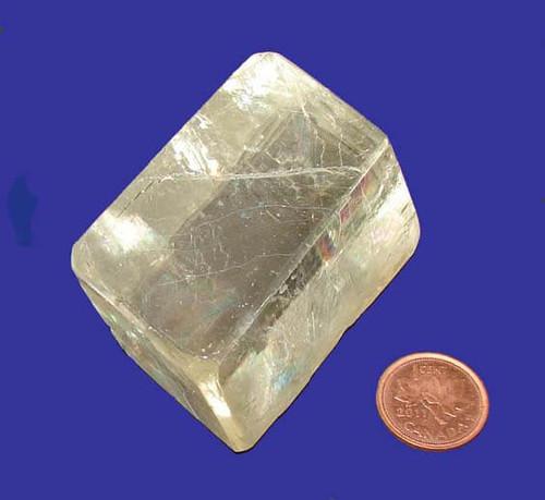 Rhombus Calcite Stone, Specimen Q