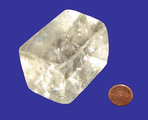 Calcite Rhombus Stone, Specimen T, Image 1