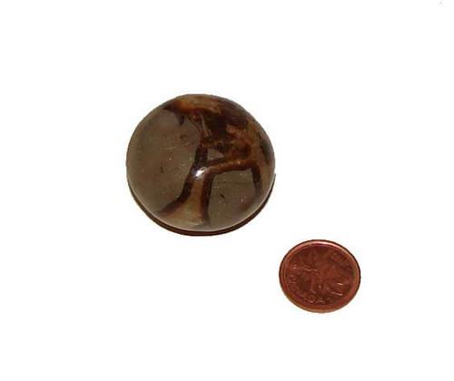 Tumbled Septarian Stone - Specimen Q - Image 1