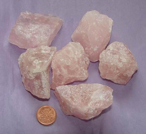 Rose Quartz Rough Stones, size gigantic