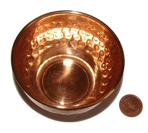 Copper Smudge & Offering Bowl