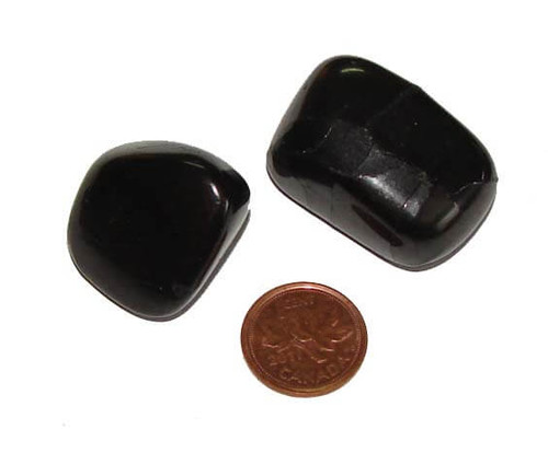 Tumbled Shungite Stone from Russia , size extra large