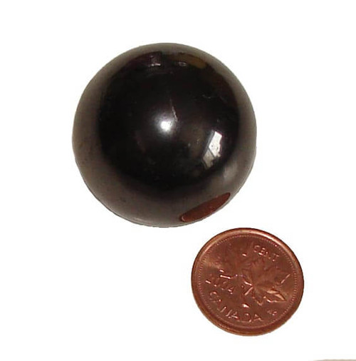 Shungite Stone Sphere, 1 inch, 30 to 34 grams