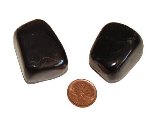 Shungite Tumbled Stone from Russia, size gigantic