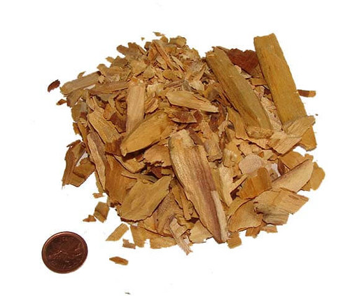 Palo Santo Wood Flakes from Peru, 1 ounce