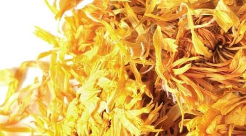 Dried Marigold Calendla flowers, 1 ounce
