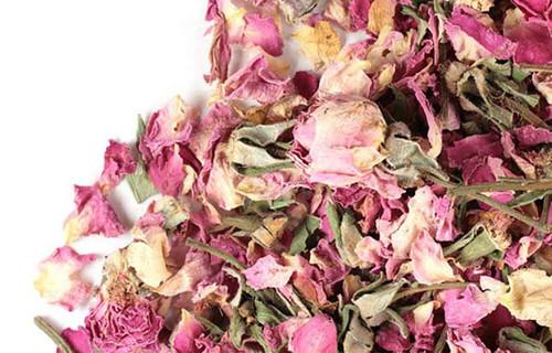 Pink Rose Petals (Rosa canina), 1 ounce