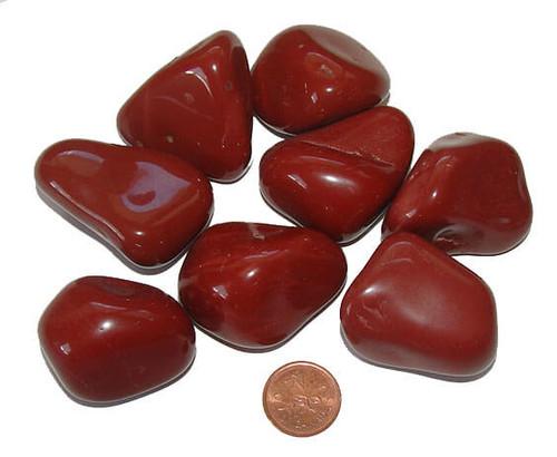Tumbled Red Jasper Healing Stone, size Gigantic