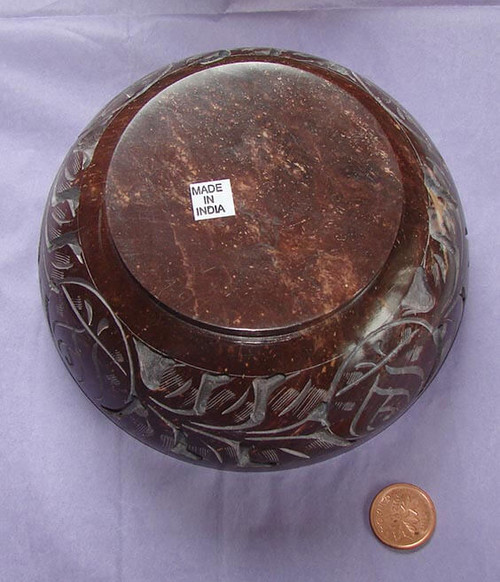 Carved stone bowl, image 2