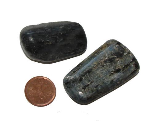 Blue Kyanite Tumbled Stones, size huge