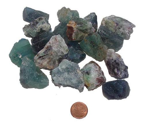 Rough Fluorite Stones - extra large