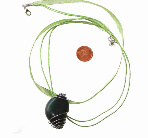 Light Green Pendant Cords with lobster clasp