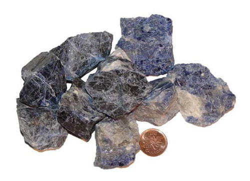 Raw Natural Sodalite Stones - size extra large
