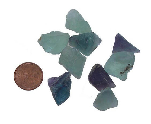 Fluorite Raw Stones - extra small