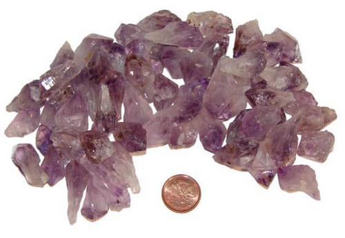 Amethyst Natural Points - Extra Small