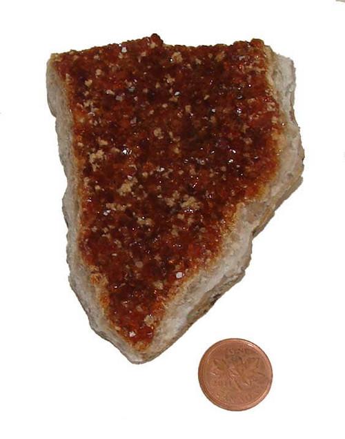 Citrine Crystal Cluster - Specimen G