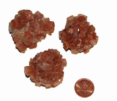 Aragonite clusters - size extra large