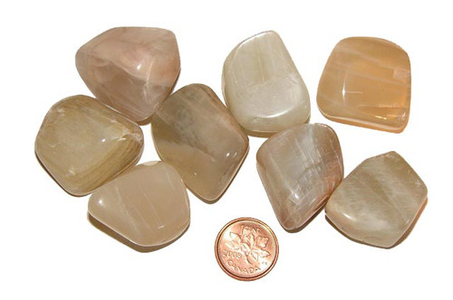 Moonstone Tumbled Stone - extra large