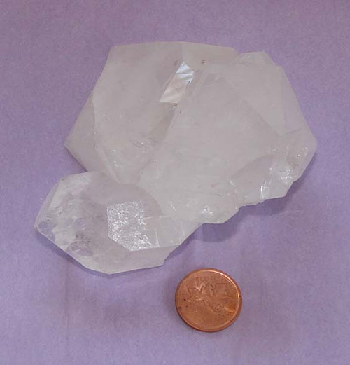 Clear Quartz Crystal Cluster, Specimen F, Image 1