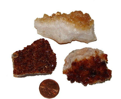 Citrine Crystal Clusters - large