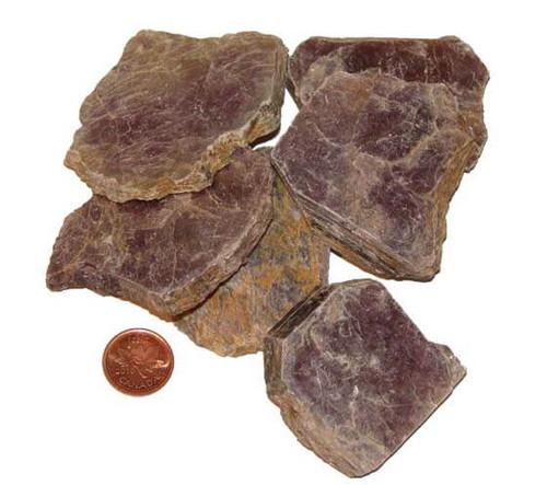 Raw Lepidolite Crystal - XXXL