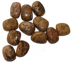 Leopard Skin Jasper can reveal karmic causes - Free info on meanings of healing and how to use with purchase - Free shipping over $60.
